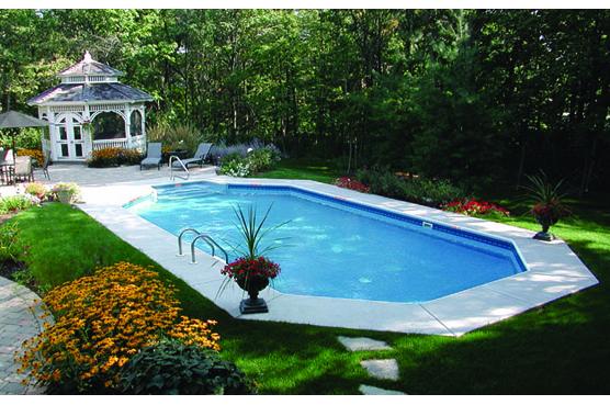 hồ bơi hình chữ nhật