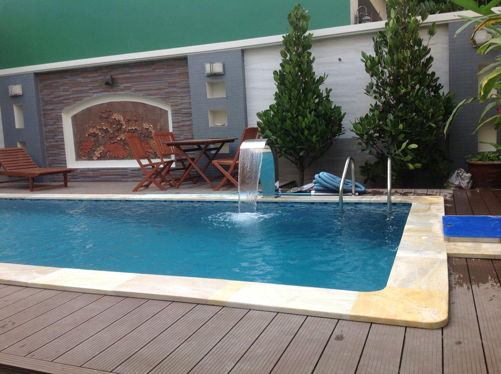 xây dựng hồ bơi phù hợp khuôn viên